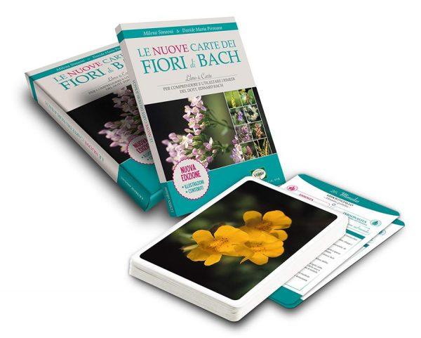 libro con carte dei fiori di Bach